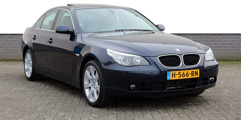 BMW 530xi A High Executive 56.836 km comfortseats schuifdak 2005