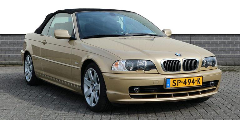 BMW 325ci cabrio Individual 93.079 km Vol opties Topstaat 2002