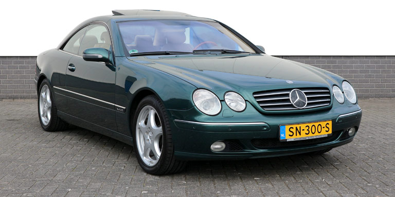 Mercedes-Benz CL 600 111.160 km Alexandrit Vol opties 2000