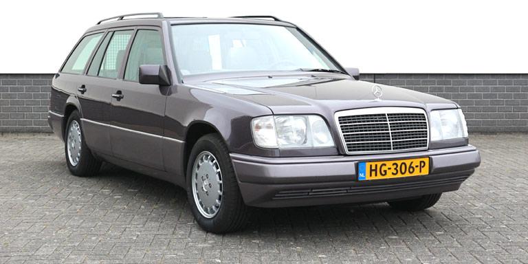 Mercedes E 220 combi aut 88.455 km  Schuifdak ABS 1993