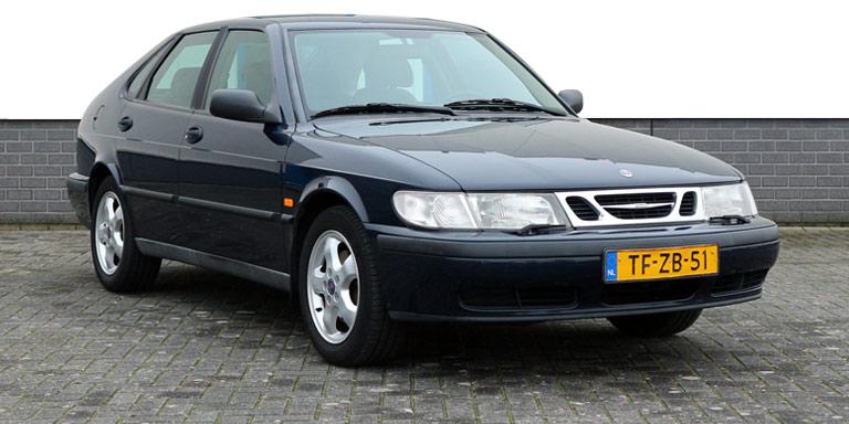 Saab 9-3 2.0i aut HB 199.415 km mooi en goed 1998