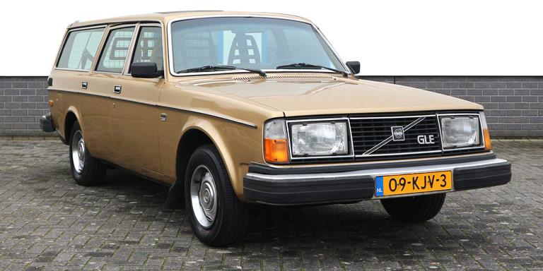 Volvo 245 GLE 2.1 OD 212.674 km LPG OB 1979