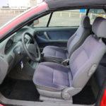 Fiat Punto cabriolet 90 ELX 122.935 km mooi rood! elektr kap 1997
