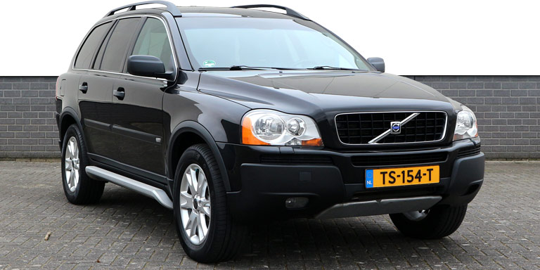 Volvo XC90 2.5T geartronic 7p 214.847 km LPG-G3 OB Vol opties 2003