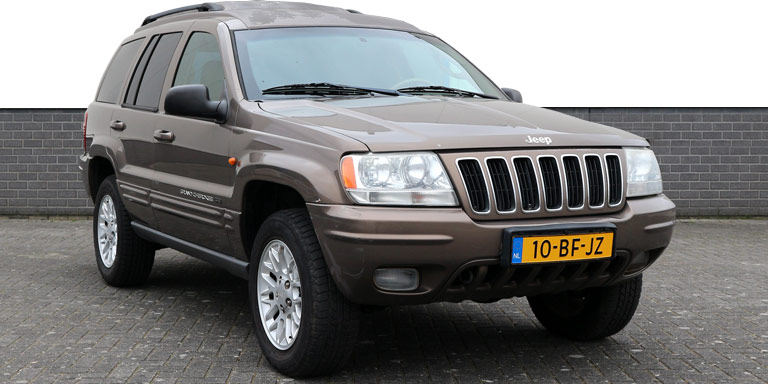 Jeep Grand Cherokee 2.7 CRD AUT Limited HR 177.267 km grijs kenteken 2002